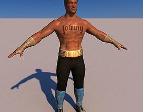 3D Johnny Cage V2 Mortal Kombat