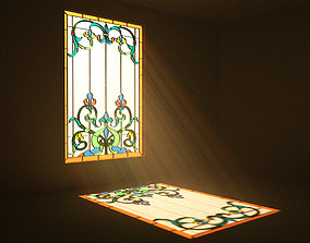 3D model Stained Glass