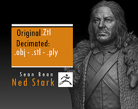 3D print model Sean Bean - Ned Stark - Game Of Thrones