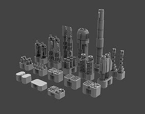 3D print model Armored Might - Omni Slot Weapons