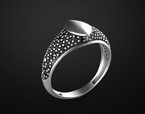 3D print model Signet man ring
