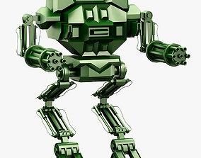 Robot 06 Mech Warrior 3D Print warrior