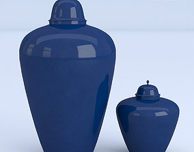 Blue Containers 3D