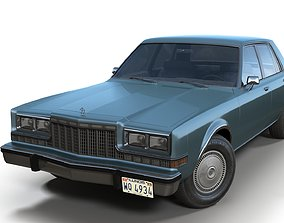 3D model Dodge Diplomat 1980