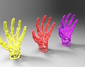 Hand wires 3D printable model