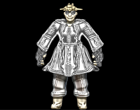 High-Poly Classical Clothed Model Two