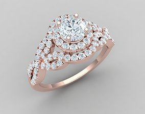 The Vintage Collection Diomand Ring 3d Model 1