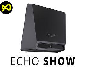 3D Amazon Echo Show 2017