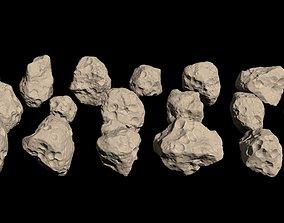 3D gem Meteors HD Pack - 21 pieces
