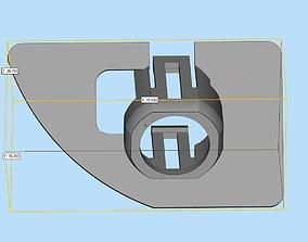 3D printable model Parking sensor bracket for Audi Q5 rear
