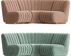 3D model Sophia Sofa Essential Home Mid Century Furniture
