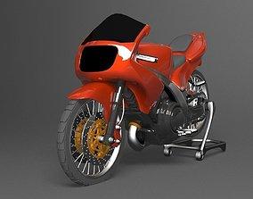 Ninja Ninja KRR Racing modified 3D model realtime