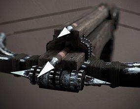 Double Crossbow 3D asset