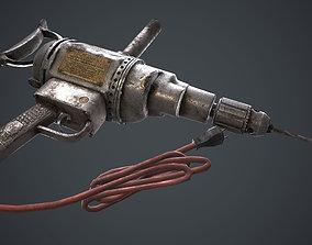 drill machine 3D asset