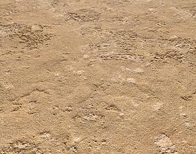 Sand terrain PBR pack 6 3D model