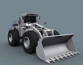 Your Mining loader - 3d animated loader model animated