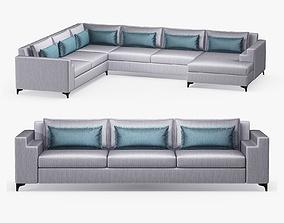 3D Philippe Hurel - Savannah modular sofa