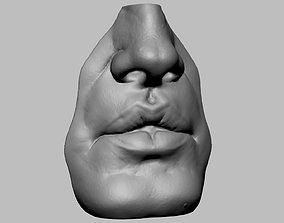 3D print model Mouth