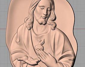 Christianity Jesus Christ Virgin Mary CNC 3D 3