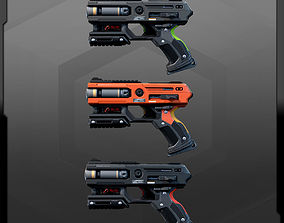 3D model SF HandGun AK2