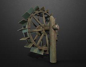 3D asset Water Mill
