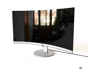 PC Curved Screen 3D