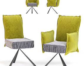 Chair with Armrest Chelsea 3D model