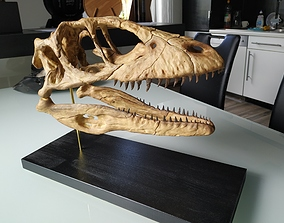 3D printable model Deinonychus Skull