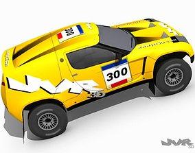 Rally Raid Prototype Race Car 3D model
