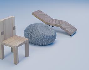 3D Chair ball