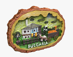 Bulgaria Magnet Souvenir 3D printable model