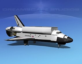 3D STS Shuttle Columbia Landing MP 2-3
