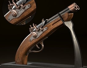 3D model Assassin Creed Gun Concept