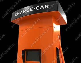 3D Car-charge - TYPE J1772 and CHAdeMO charger