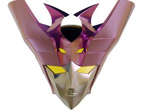Minerva A Wearable Head - Mazinger 3D printable model 1