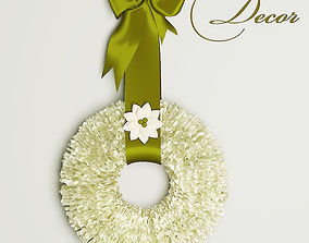 3D decorative wreath