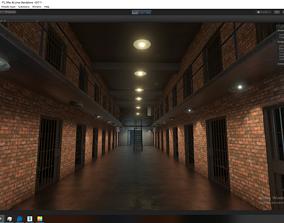 Prison For Unity 3D model