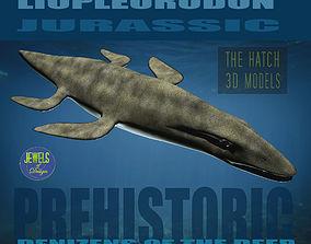 Liopleurodon 3D asset VR / AR ready