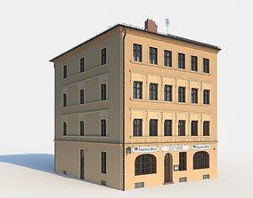 Residential City Building - Corner - 15 - Restaurant 3D 1