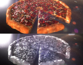 Pizza 3D Realistic