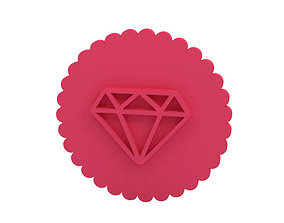 3D print model Cookie stamp - Stamp house