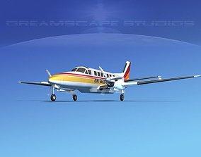 Beechcraft B99 Air Sebring 3D model