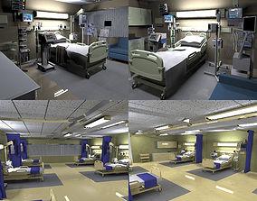 Hospital rooms 3D asset