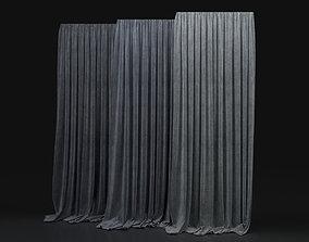 3D Curtain Grey-11