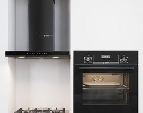Bosh kitchen appliances 3D