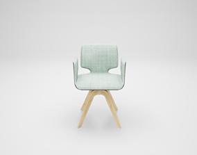 3D model Furniture series - modern chair - 22