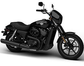 Harley-Davidson Street 750 2015 3D model