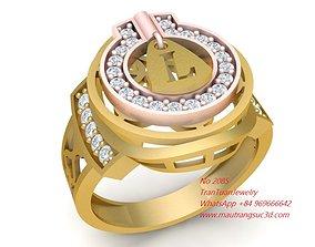 3D print model 2085 Diamond Ring