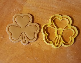 Clover cookie cutter 3D printable model