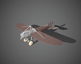 Airplane cartoon - 07 3D model realtime